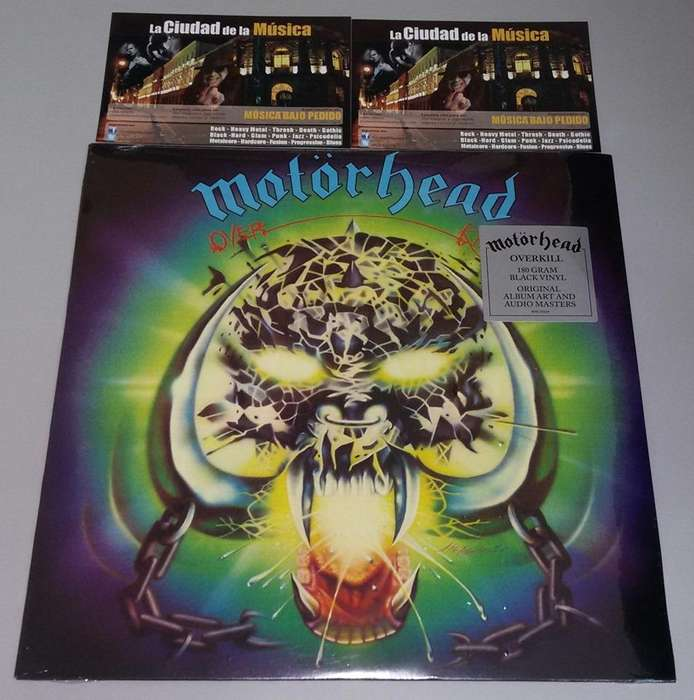 LP'S DE VENTA!!! Motorhead