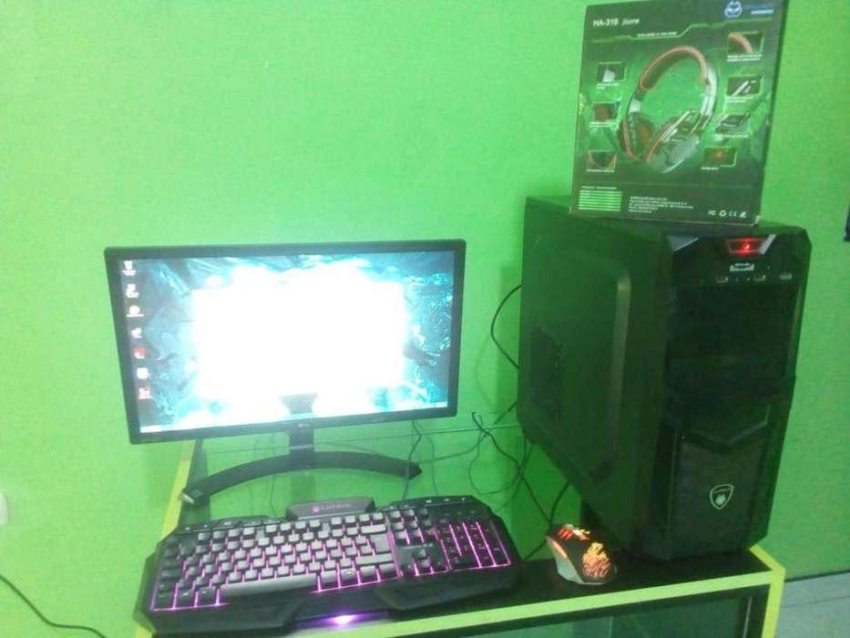 VENDO PC GAMER A10 8GB CON ACCESORIOS ANTRYX