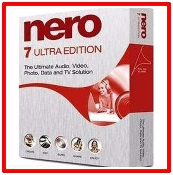Nero 7 Ultra Edition Graba Edita etc Español CHAVEZ COMPUTACION