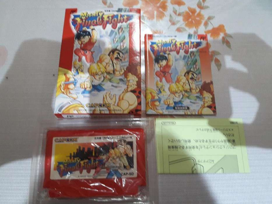Mighty Final Fight Famicom Completo