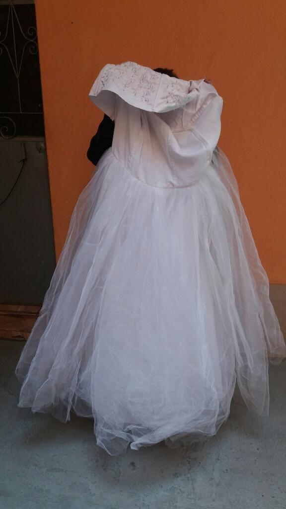 Vendo Vestido de Novia 1 Puesta