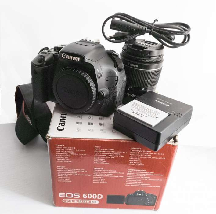 Canon T3i / 600 D