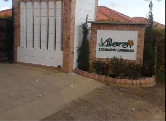 Hermosa parcela en Condominio campestre Villaren