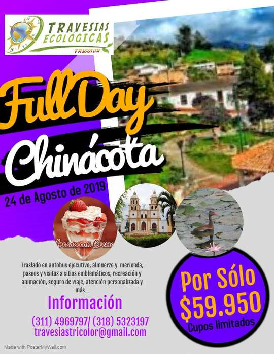 Full Day a Chinacota