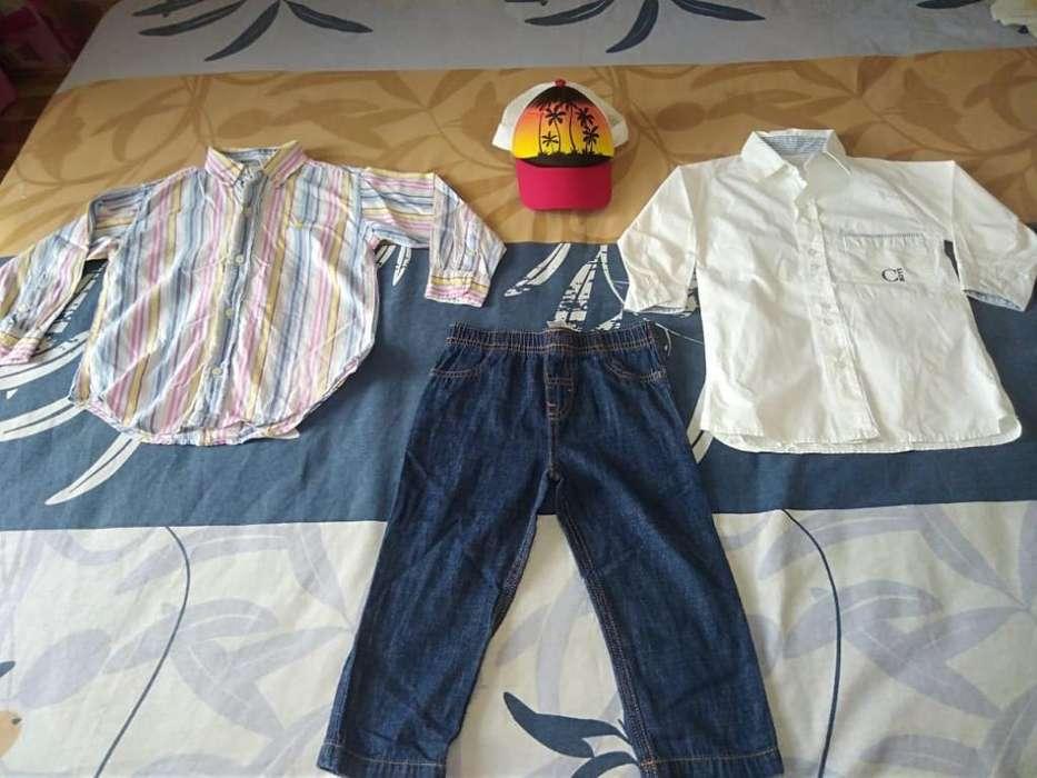 Lote de <strong>ropa</strong> de Niño 3 Añitos