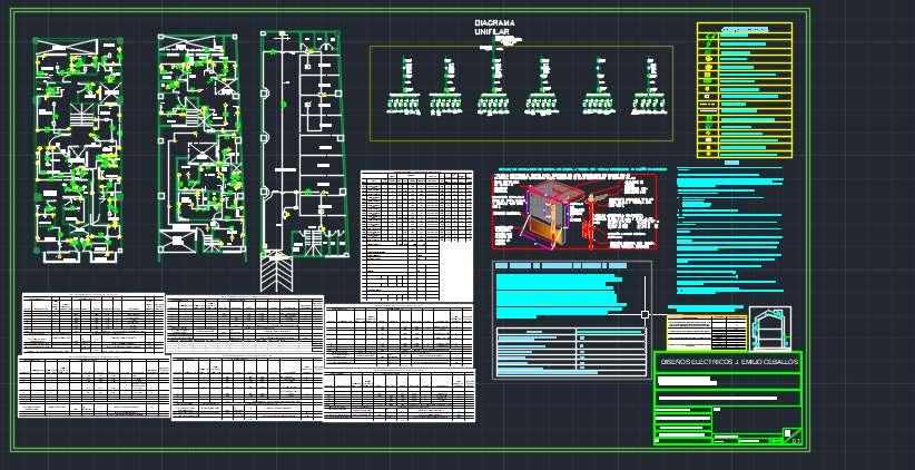 Dibujante de Planos de diseños electricos