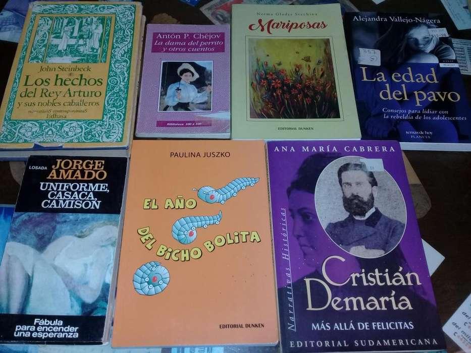 Libros varios (consultar por otros autores)