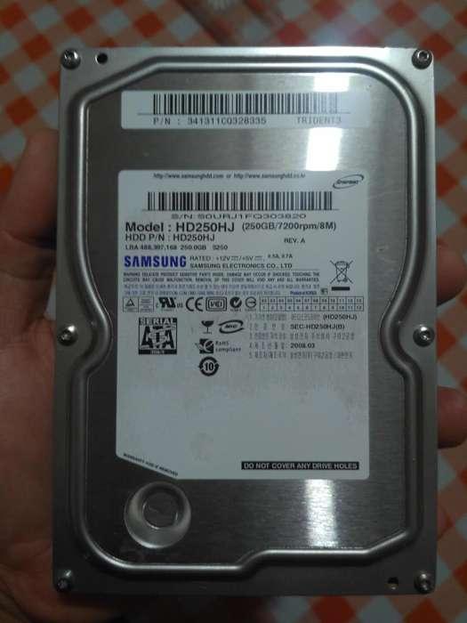 Disco Duro Samsung 250 Gb