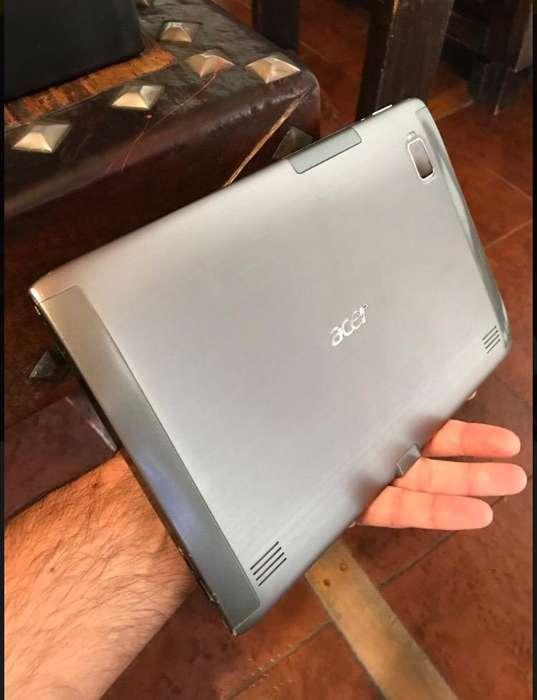 Tablet Acer Igual a Nueva (Fotos Reales)