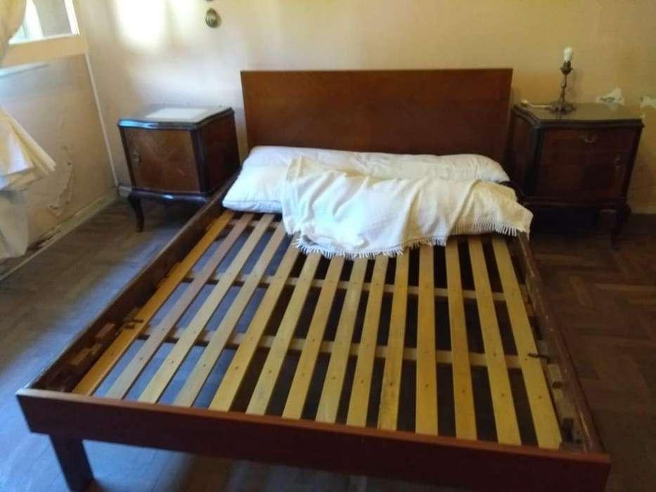 Juego de dormitorio antiguo Estilo Luis XV
