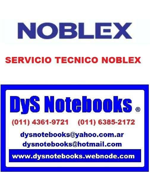 NOBLEX SERVICIO TECNICO NOTEBOOK NETBOOK LAPTOP