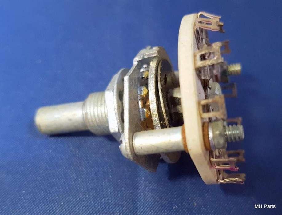 Interruptor rotativo NOS Centralab 134142