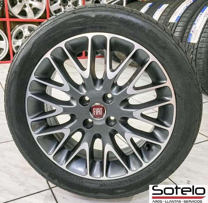 Aros Fiat 500 Originales