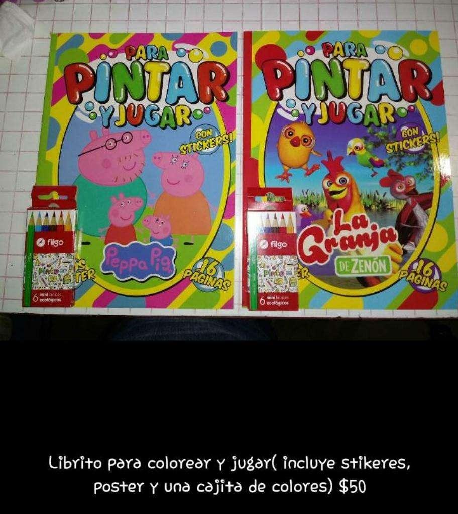 Libritos para Colorear