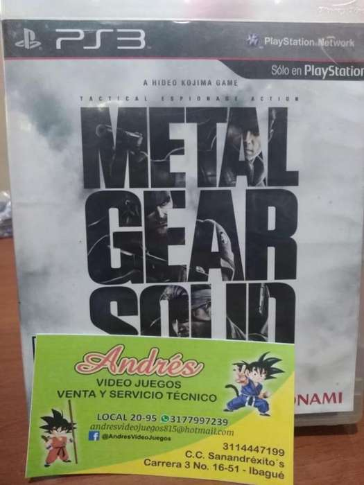 Metal Gear Solic Colletion