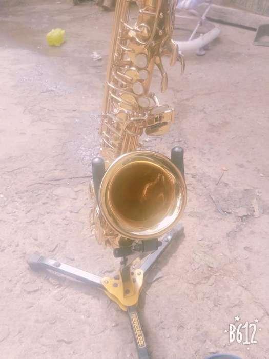 Vendo un hermoso saxofn