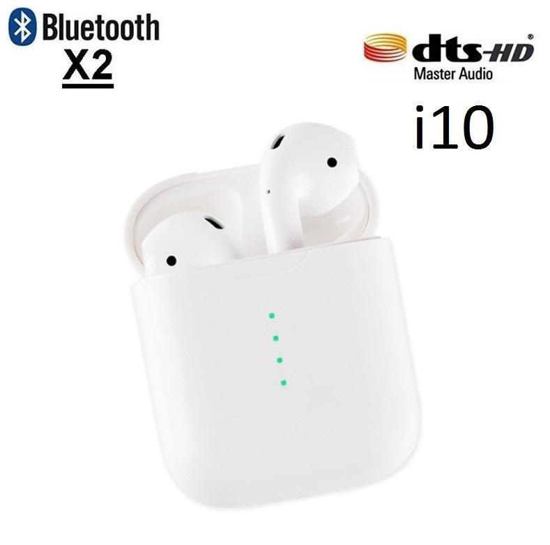 Auriculares Inalambricos Audifonos Aripods i10 Bluetooth 4.3 Manos libres