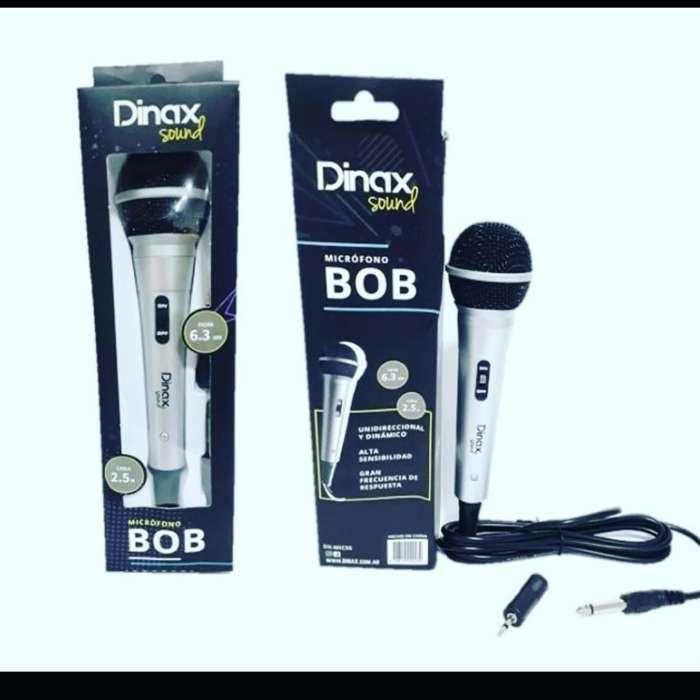 Microfono Dinax Semi Profecional 449