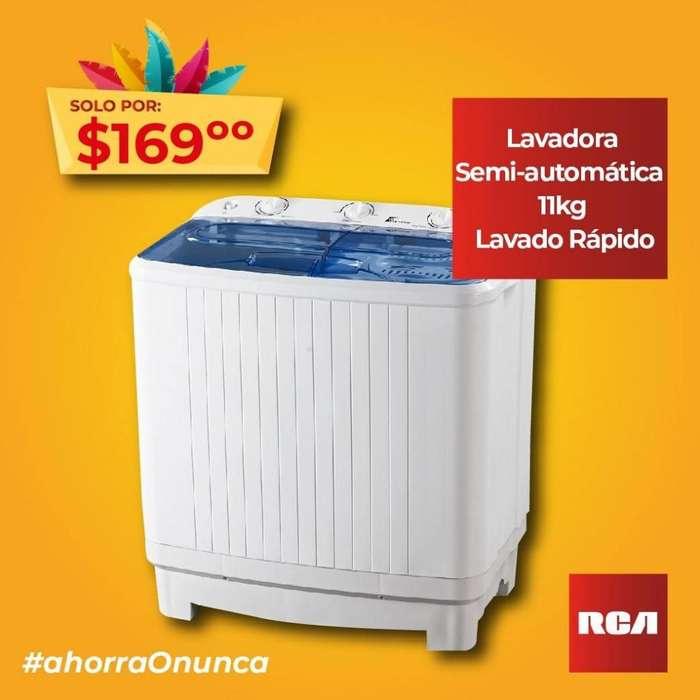 <strong>lavadora</strong> SEMI-AUTOAMTICA DE 11KG RCA