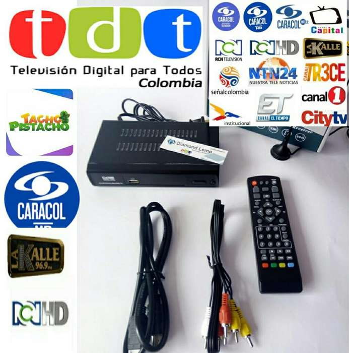 Decodificador Receptor Tdt Full Hd