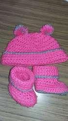 Gorros Medias Calzado Bebé
