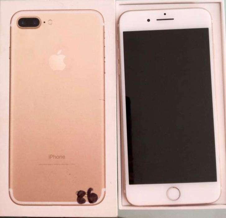 iPhone 7Plus 32 Gb. Dorado. 10/10