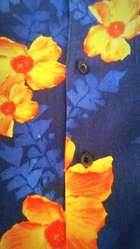 Bonita Camisa Nautica, Original, Estilo Hawaiana, Talla M.....