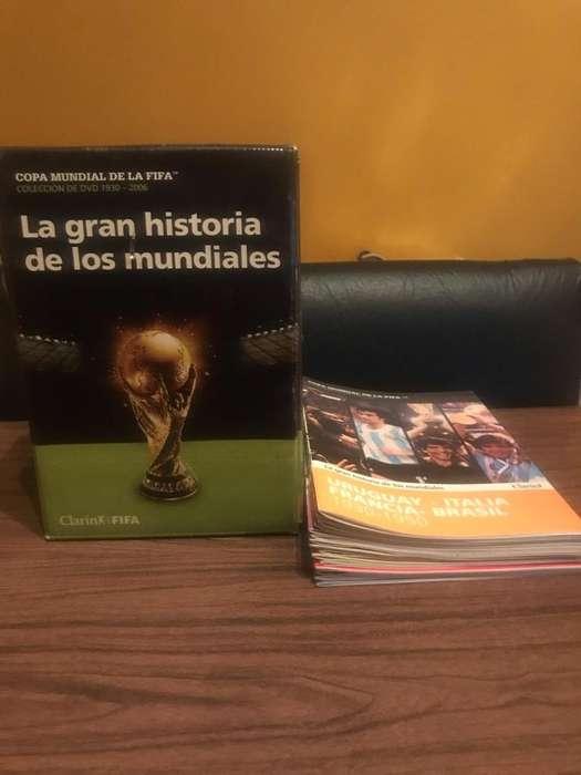 Coleccion La Historia de Los Mundiales