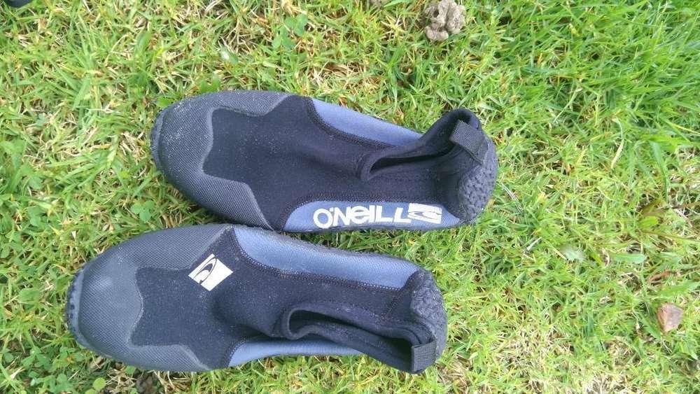Zapatos Acuáticos Buseo Tamaño Oneill