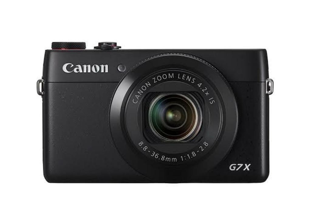 Camara Canon G7x 20mpx