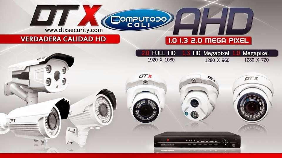 <strong>camaras</strong> AHD de vigilancia DTX