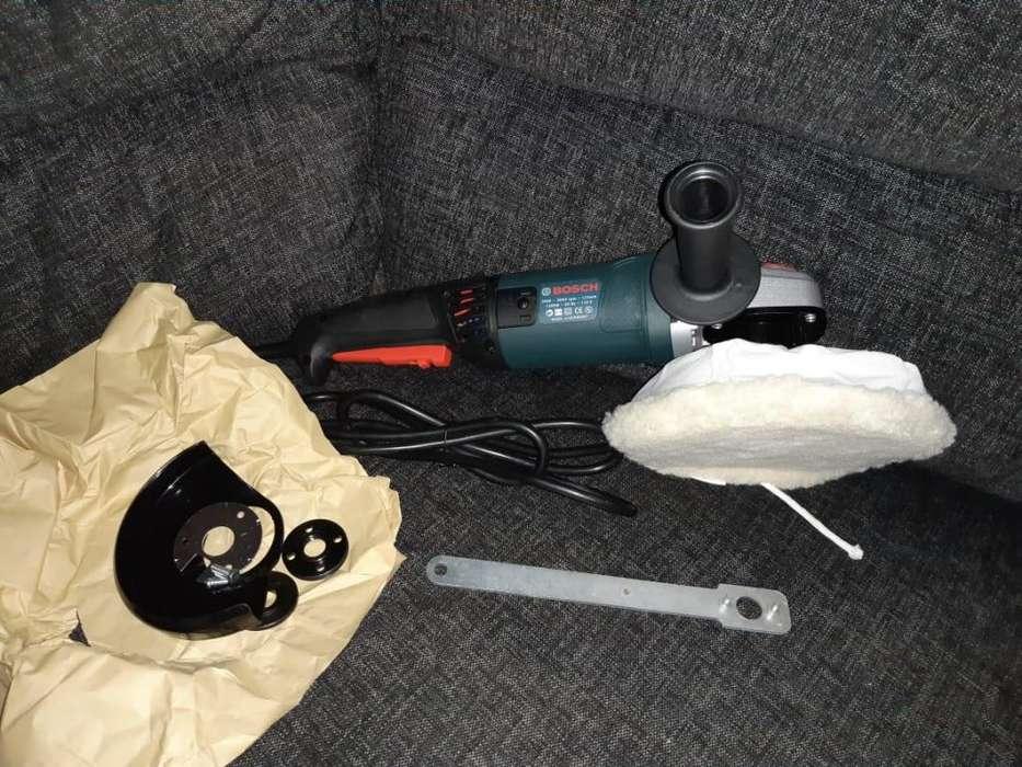 Polinchadora y Pulidora 6 Velocidades Bosch Nueva