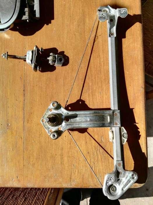 Mecanismo Lev.vidrios Trasero Corsa 2