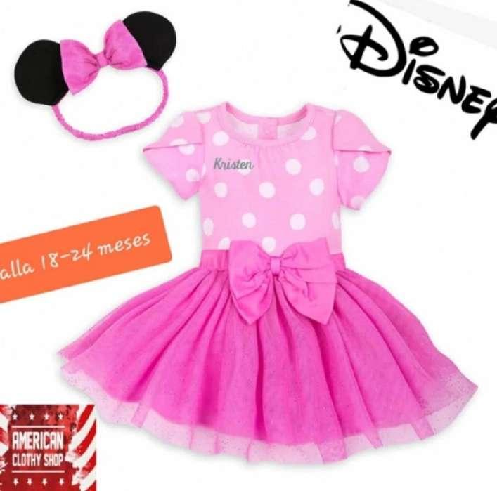 Vestido Minnie Mouse Original Disney