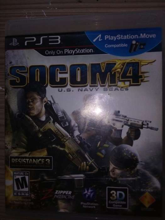 Socom4 Splinter Cell Ps3