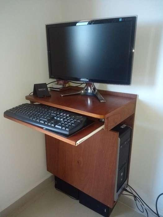 Mesita Flotante para Compu de <strong>escritorio</strong>
