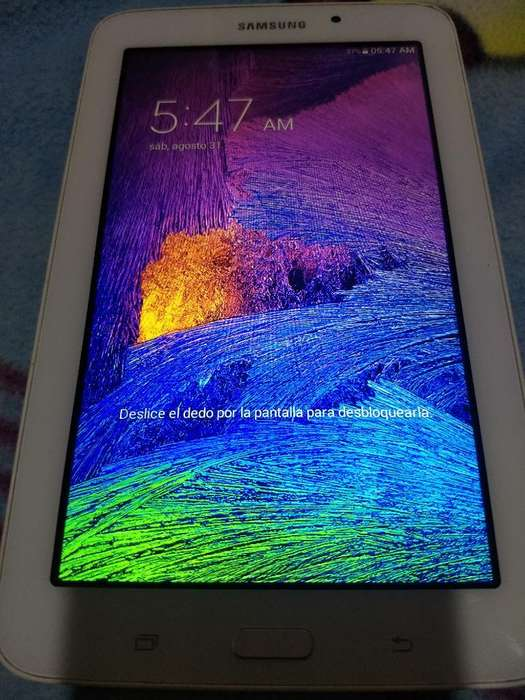 Remato Tablet Modelo Samsung Sm T113 Bás