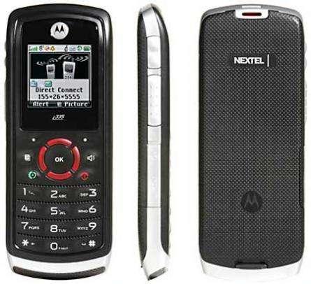 Motorola i335 red inalámbrica iDEN (Nextel)