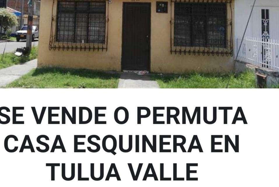 Se vende casa esquinera en Tulu valle en el barrio Rubn Cruz