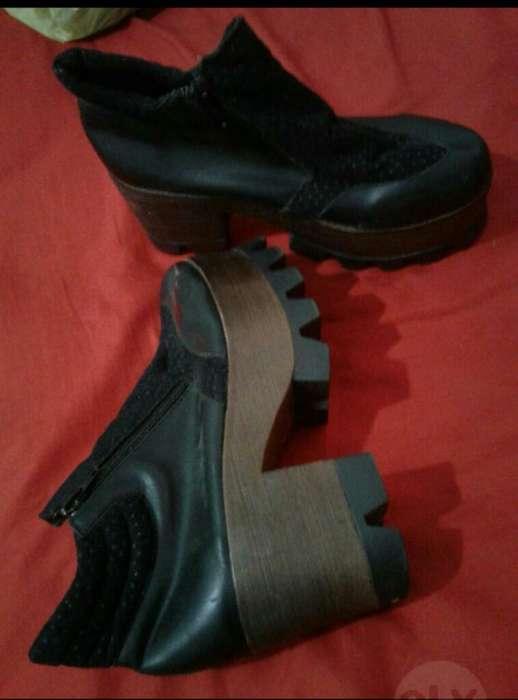 Vendo Zapato con Plataforma T 3738