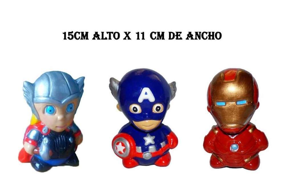 Avengers Miniatura Porcelana
