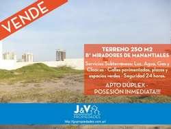 VENDO LOTE 250m. EN MIRADORES DE MANANTIALES!!!!!