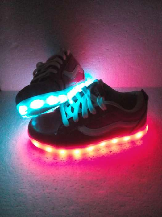 Zapatos Con Luces Talla 36