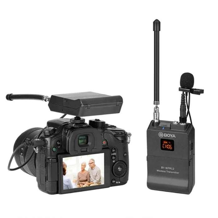 Boya By-wfm12 Micrófono Inalámbrico Sistema Vhf