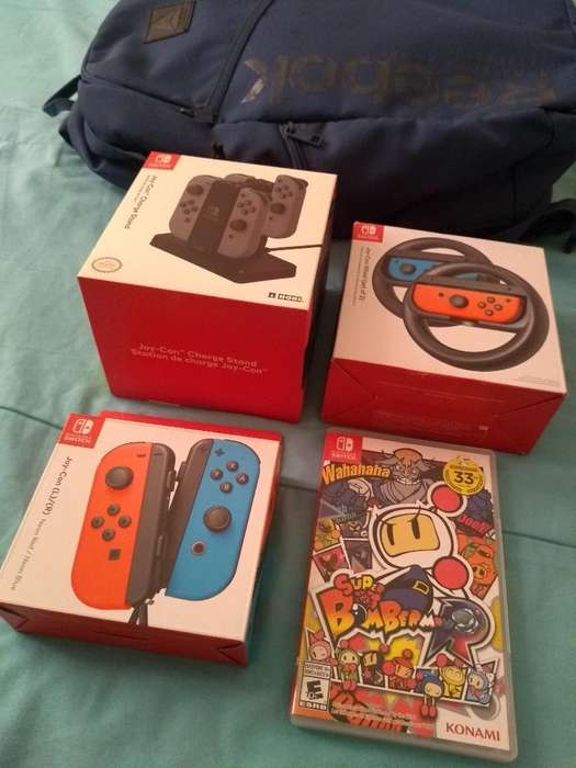 Articulos Originales Nintendo Switch