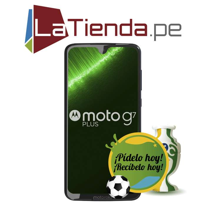 Motorola Moto G7 Plus 64GB de almacenamiento interno expandible
