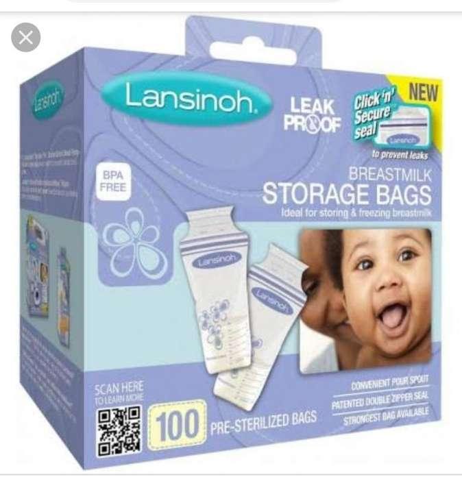 Bolsa para almacenar leche materna 100 unidades