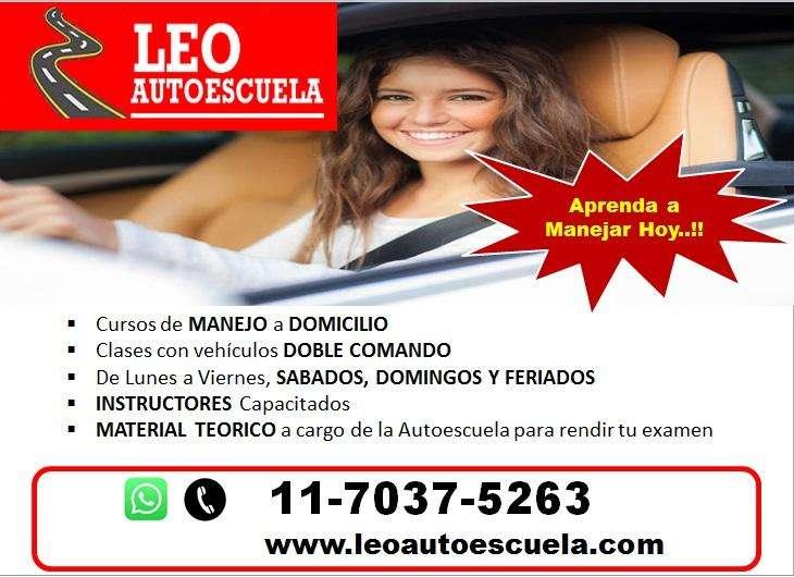 Clases de Manejo a Domicilio, Leo Autoescuela
