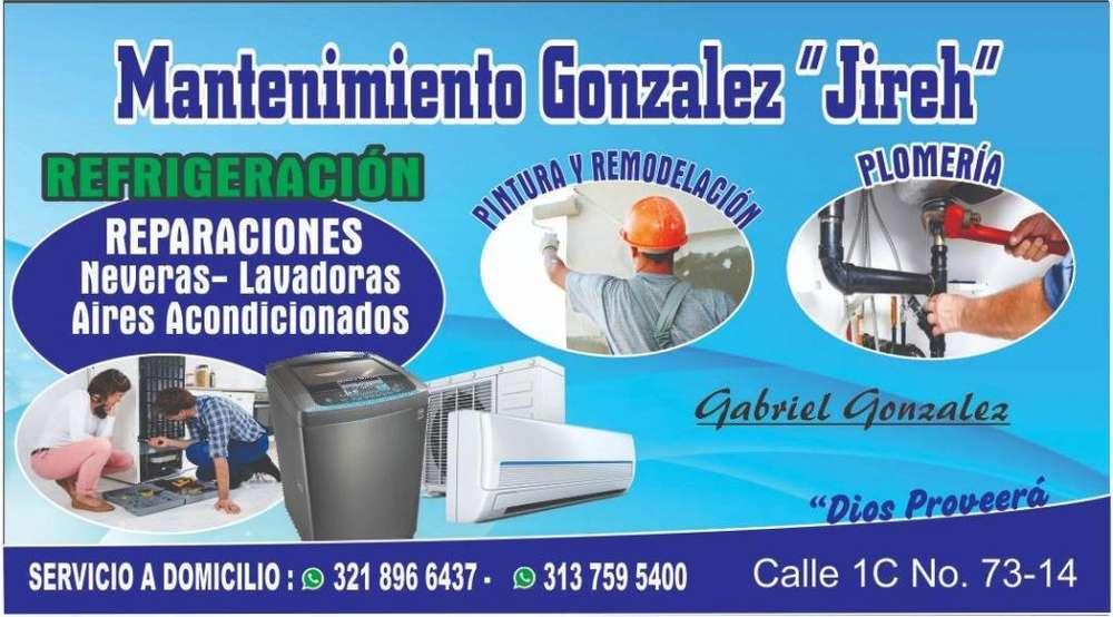 Servicios de refrigeración a Domicilio