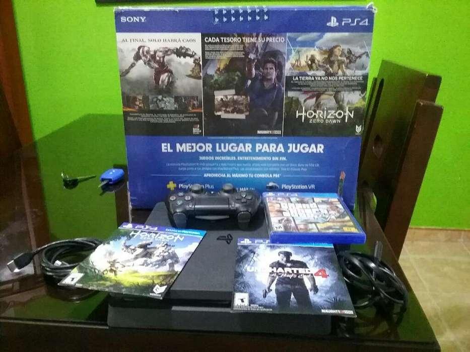Play 4 Slim Excelente Estado 500gb